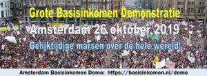 Demonstratie VOOR Het Basisinkomen - Amsterdam @ Dam | Amsterdam | Noord-Holland | Nederland